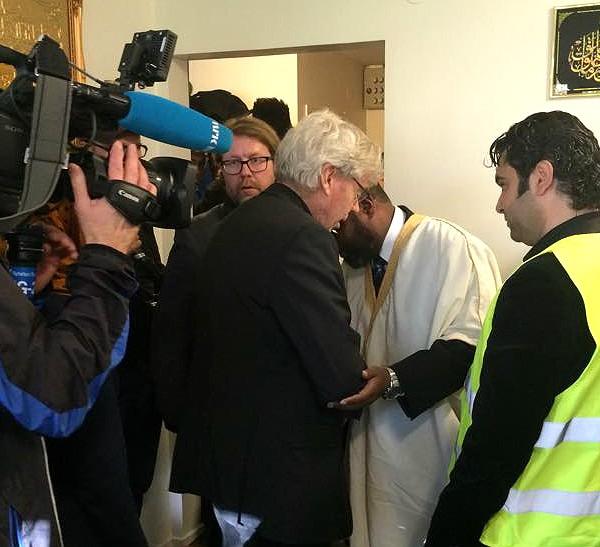 Bilder – Muslimska företrädare i Trollhättan