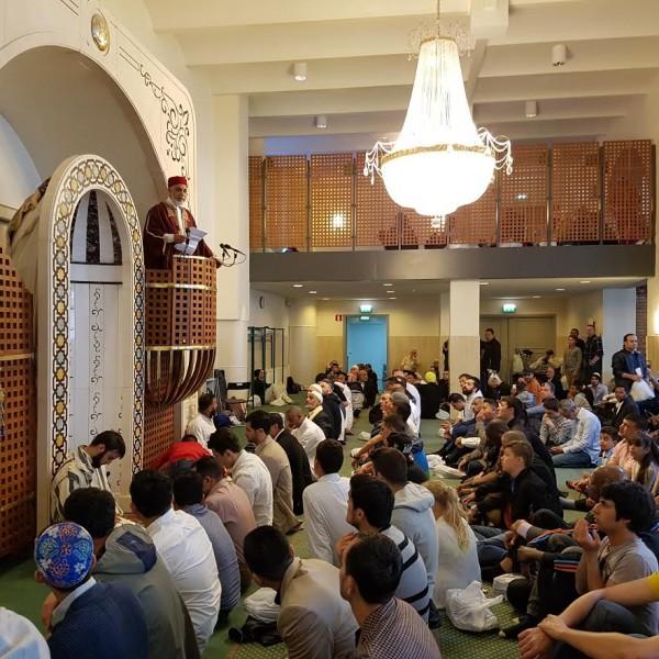 Eid bönen i Sverige den 5 juli 2016